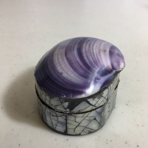 Accents - 💣 Shell Trinket Stash Box Abalone Flaws